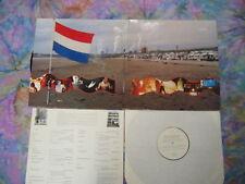 """Q.E.D. v/a 2 LP w/7"""" Blurt Neubauten Pink Dots Test Dept. Chris & Cosey Der Plan"""