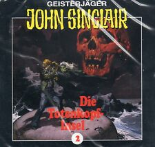 JOHN SINCLAIR - Teil 2 - Die Totenkopf-Insel - AUDIO CD - NEU OVP