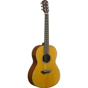Yamaha CSF Trans Natural Acoustic Parlor Folk Size Guitar