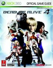 Dead Or Alive 4 Xbox 360 Prima Official Game Guide