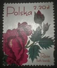 POLAND-STAMPS Fi4047 Sc3787 Mi4197 - Roses in Polish embroidery, 2005 ,used