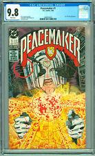 Peacemaker #1 CGC 9.8 1988 DC Comic 1st Series Suicide Squad HBO Show John Cena