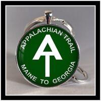 Appalachian Trail sign photo keychain Hiker Gift 🎁🌲🗻🏕🇺🇸