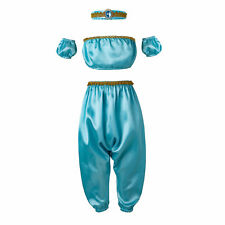 Girls Princess Dress Up Cosplay Disney Costume Halloween Party Outfits