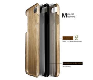 Echt Holz Wood Case mix Aramid Slim Backcover Hart Schale Handy Hülle für iPhone