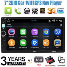 7pulgadas de pantalla táctil WiFi Android Stereo MP5 Player GPS FM AM Radio+Mapa