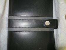 Cross 1846 Leather Medium Agenda Ebony with Carbon Grey