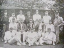 Vintage 1895 Lancashire County Cricket Club Taken from Book to Frame? Ashes