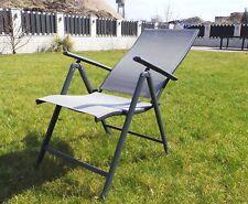 Klappstuhl Gartenstuhl Relax Stuhl Stahl Hochlehner Campingstuhl Klappsessel S1
