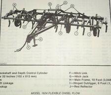 John Deere 1600 Series 1624 Chisel Plow Parts Catalog Manual Jd Original 979