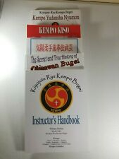 Kempo Martial Arts Lot of Five Books by William Durbin and Shodai Soke