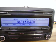 Autoradio CD MP3 VW RCD 310 Caddy Golf Passat T5 Touran Tiguan radio AUX-in