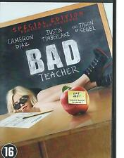 DVD BAD TEACHER - CAMERON DIAZ ENGLISH FRANCAIS DEUTSCH  / NL region 2