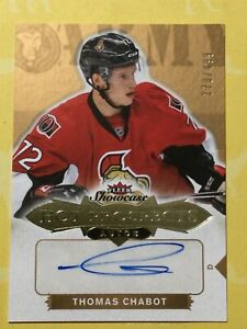 2016-17 Fleer Hot Prospects Rookie Auto #/499 Thomas Chabot RC!