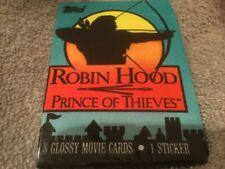 1991 Topps Morgan Creek Robin Hood of Thieves Kevin Costner 8 Glossy