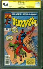 Deadpool 11 CGC 9.6 SS Stan Lee Signed 1997 Amazing Fantasy 15 homage cover