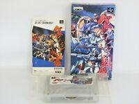 BATTLE ROBOT RETSUDEN Gundam Ref/ccc Super Famicom Nintendo sf