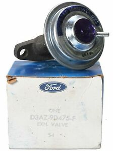 NEW NOS Ford EGR Valve 1973-1978 Ford Lincoln Mercury D3AZ-9D475-F