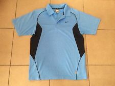 NIKE  Fit Dry  Tennis Top  L/Blue    Size S