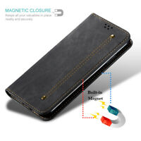 For Xiaomi Redmi 8A 7A Magnetic Luxury Synthetic Leather Case Flip Wallet Cover