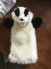THE PUPPET COMPANY HAND HELD PUPPET - BADGER