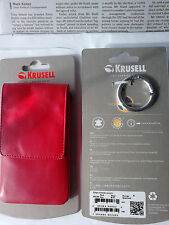 SOFT TOUCH MOBIL PHONE CASE/PURSE Get carried away by Krusell of Sweden.
