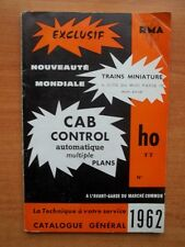 RMA (Réseaux Modélistes Amateurs) 1962 : TRAINS MINIATURES ET DECORS HO