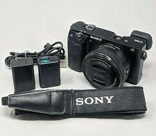 Sony Alpha A6000 24.3MP Digital Camerawith 16-50mm Lens - 1,881 Clicks!