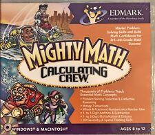 Mighty Math Calculating Crew Pc Mac Brand New  Win10 8 7