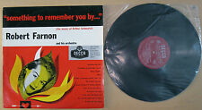 ROBERT FARNON Something To Remember You By ... - LP