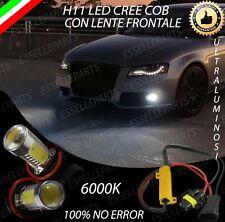 COPPIA LAMPADE FENDINEBBIA H11 LED CREE COB CANBUS AUDI A4 B8 AVANT 6000K