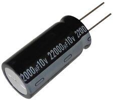 Condensateur électrolytique chimique 22000µF 10V THT 105°C 1000h Ø20x40mm radial