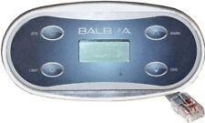 Balboa WG® Spa hot tub KEYPAD VL406U topside panel part# 53272 for Duplex system