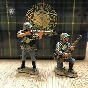 King & Country: Boxed Set WS110 - German Riflemen In Action. Retired