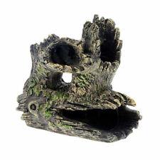 Artificial Driftwood Aquarium Fish Tank Fake Hiding Tree Cave Decor Ornaments