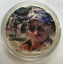 2001 DALE EARNHARDT - 1 Ounce American Silver Eagle - Uncirculated     #1317