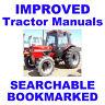 IH International Case 885 685 585 485 385 Diesel Tractor Service & Repair Manual