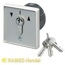 Schlüsseltaster Schlüsselschalter mit PHZ Tor Antrieb Motor Garagentor MR1-2T