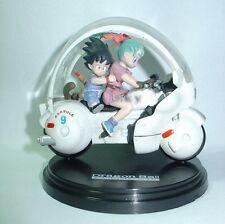 Dragon Ball Z Son Goku and Bulma Motorcycle action figure toy 8cm