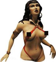 █ Resin 1/10 Female Vampire Queen Bust Unassembled Unpainted x277