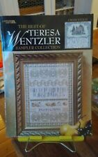 Rare The Best of Teresa Wentzler Sampler Collection cross stitch 97 pages