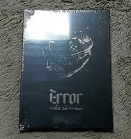 VIXX - Error (2nd Mini Album) CD+Photobook+Photocard+Poster + GIFT MINI PHOTO