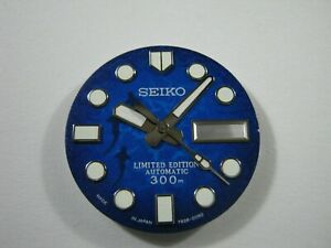 New REPLACEMENT SAVE THE OCEAN SHARK MOD Dial and Hand for SKX007/7S26-0020/HN36