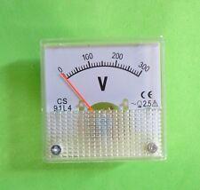 Volt Meter Voltmeter Voltage Meter 0-300V Generator 2KW 2.5KW 3KW Control Panel
