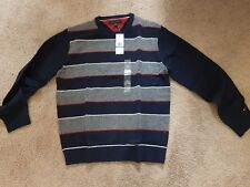 TOMMY HILFIGER Men's CrewNeck Lambswood sweater XL