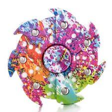 Lot of 3 Hand Finger Spinner Figet 3d 360° Spin  Paint Splatter FAN  BLADE