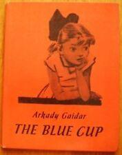 Gaidar A. Blue cup Russian Soviet children book illustration by Dubinsky English