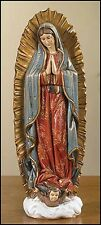 Our Lady of Guadalupe Figurine 9 inches NEW SKU TC021