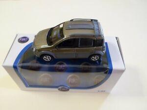 MODELLINO AUTO NOREV FIAT PANDA 4X4 MONSTER SUV SCALA 1:43 COLORE RARISSIMO