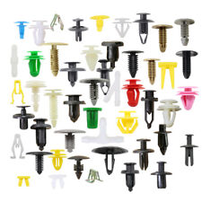200pcs Various Car Plastic Rivet Fastener Push Pin Trim Moulding Clips Panel